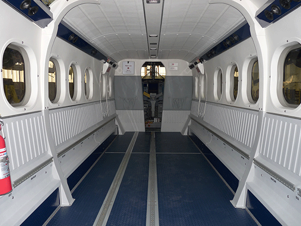 Aeroplastics Aerospace Interior replacement